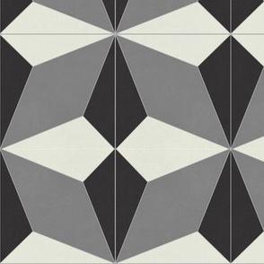 Black and Gray Diamond 2