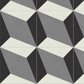 Black + Gray Diamond 1