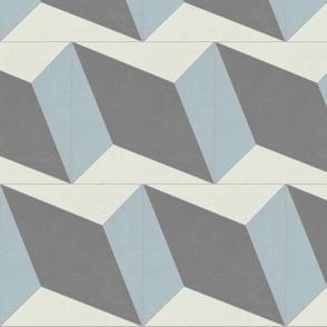Blue + Gray Diamond 3