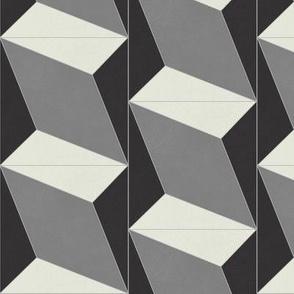 Black + Gray Diamond 4