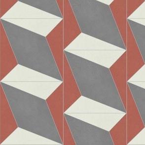 Red + Gray Diamond 4