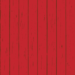 Farmhouse Barn Wood - Red