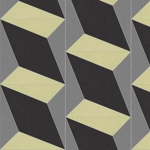 Yellow + Black + Gray Diamond 4