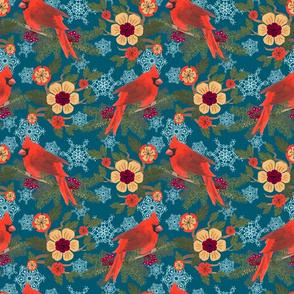 Cardinal Delight-Teal