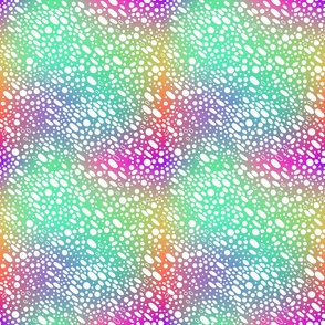 Abstract neon pattern