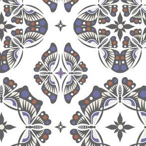 Butterfly Ornamental - beige