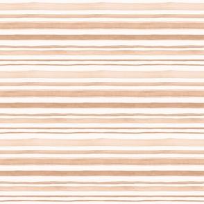 Beige / light brown watercolor stripes