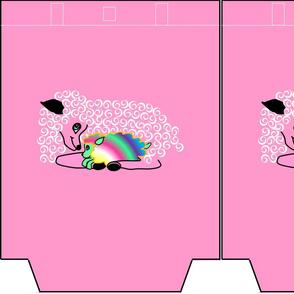 PINK SHEEP & RAINBOW LAMB Tote