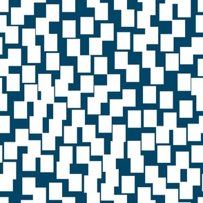 Abstract Rectangle Scatter (indigo)