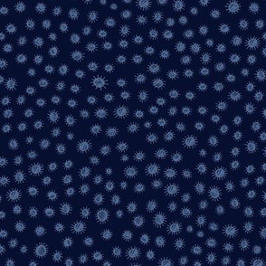 Butterfly companion - navy