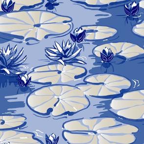 du Jardin de Monet – Monet's Waterlilies