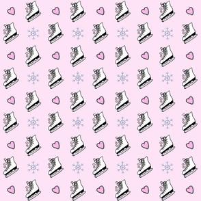 Skates Skates Skates Pink