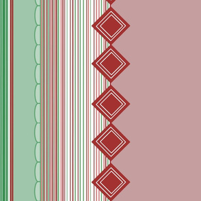 Red Green Border