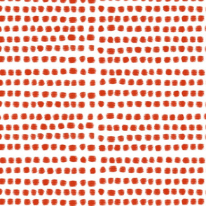 White red rough dots