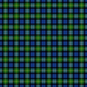 Ancient Gordon tartan, modern colors, 1""