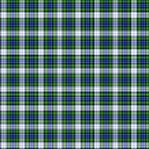 "Gordon dress tartan, 1"" modern colors"