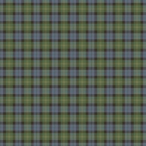 Ancient Gordon tartan, traditional colors, 1""