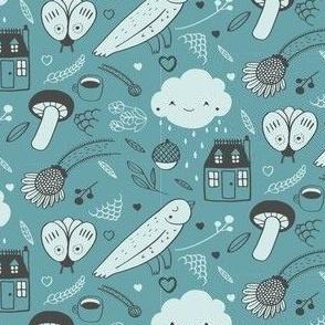House Rain Blues