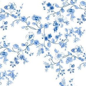 Chinoiserie Floral Wreaths