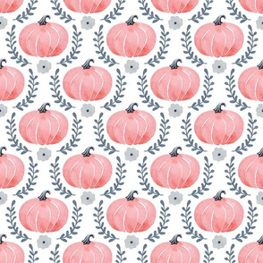 Pumpkin Patch Watercolor