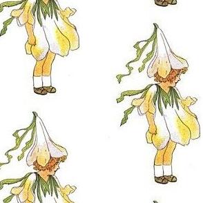 flower girl white petals