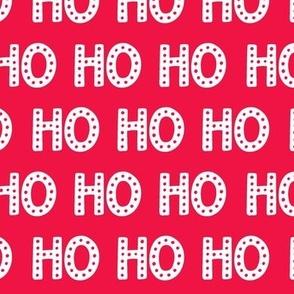 Ho Ho Ho, Merry Christmas, Christmas words