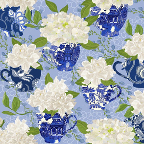 BLUE WILLOW CHINOISERIE