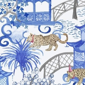 Party Leopards in the Pagoda Forest