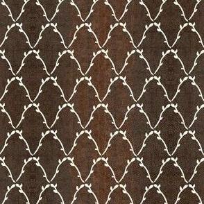 leafy-diamond-lattice-DARK-STENCIL-BROWN