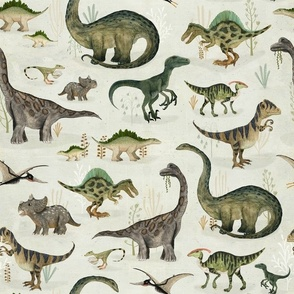 dinosaurs {large}