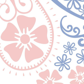 Paisley Rose Quartz Serenity Jumbo