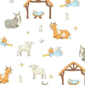 Christmas Nativity Pattern