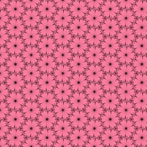 Dotty flowers in pink