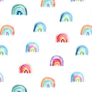 Watercolor rainbow dreams