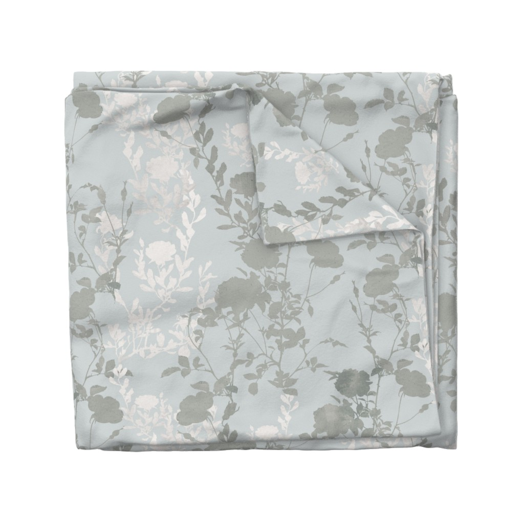 Wyandotte Duvet Cover featuring Rose Bouquet Watercolor (300blk) by suraan