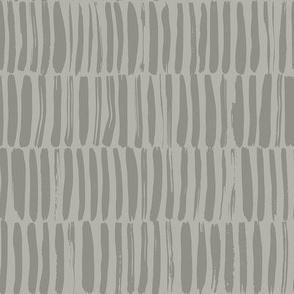 Gray brush strokes stripe