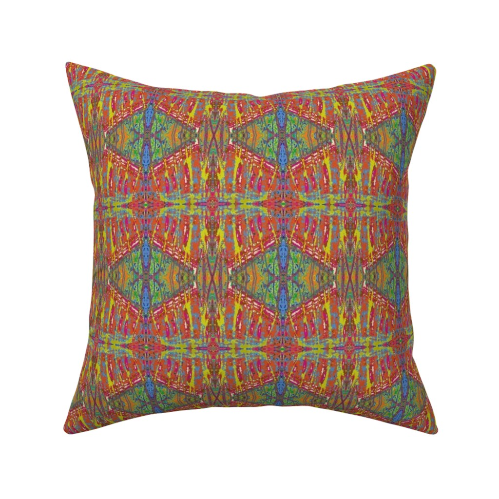 Catalan Throw Pillow featuring Blind Faith by susaninparis