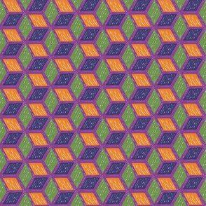 Hexagon illusions