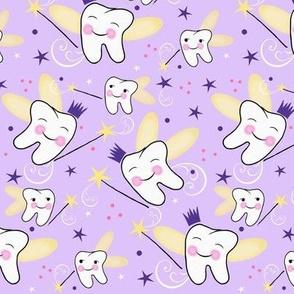 Carrie Away/ Fairy Princess / Dental -Tooth-Teeth-Crown/Lavender-Purple  Med