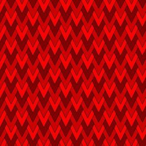 Diamond Scales Red 1:1