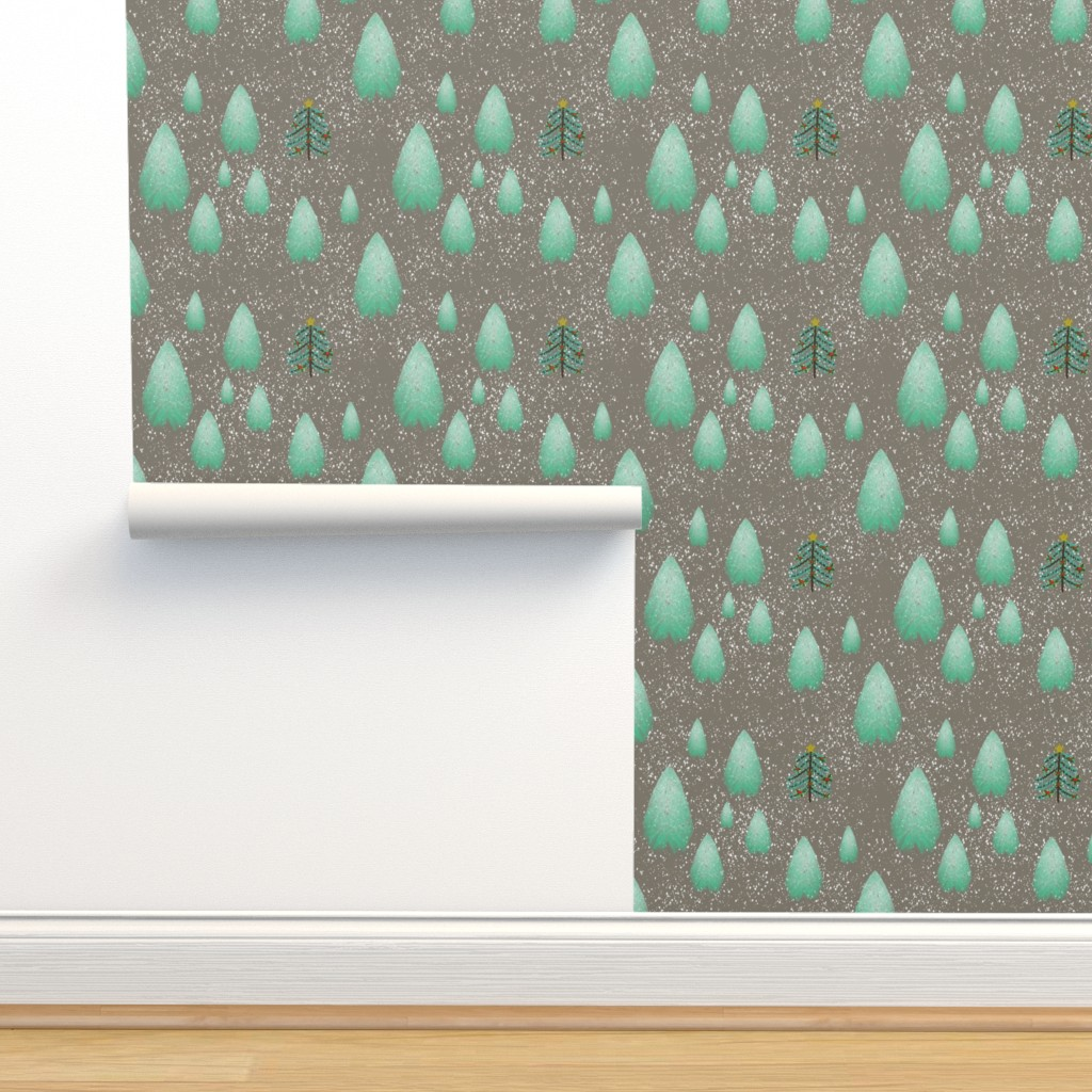 Isobar Durable Wallpaper featuring O, Tannenbaum by gargoylesentry