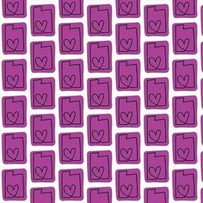 utah love   purple