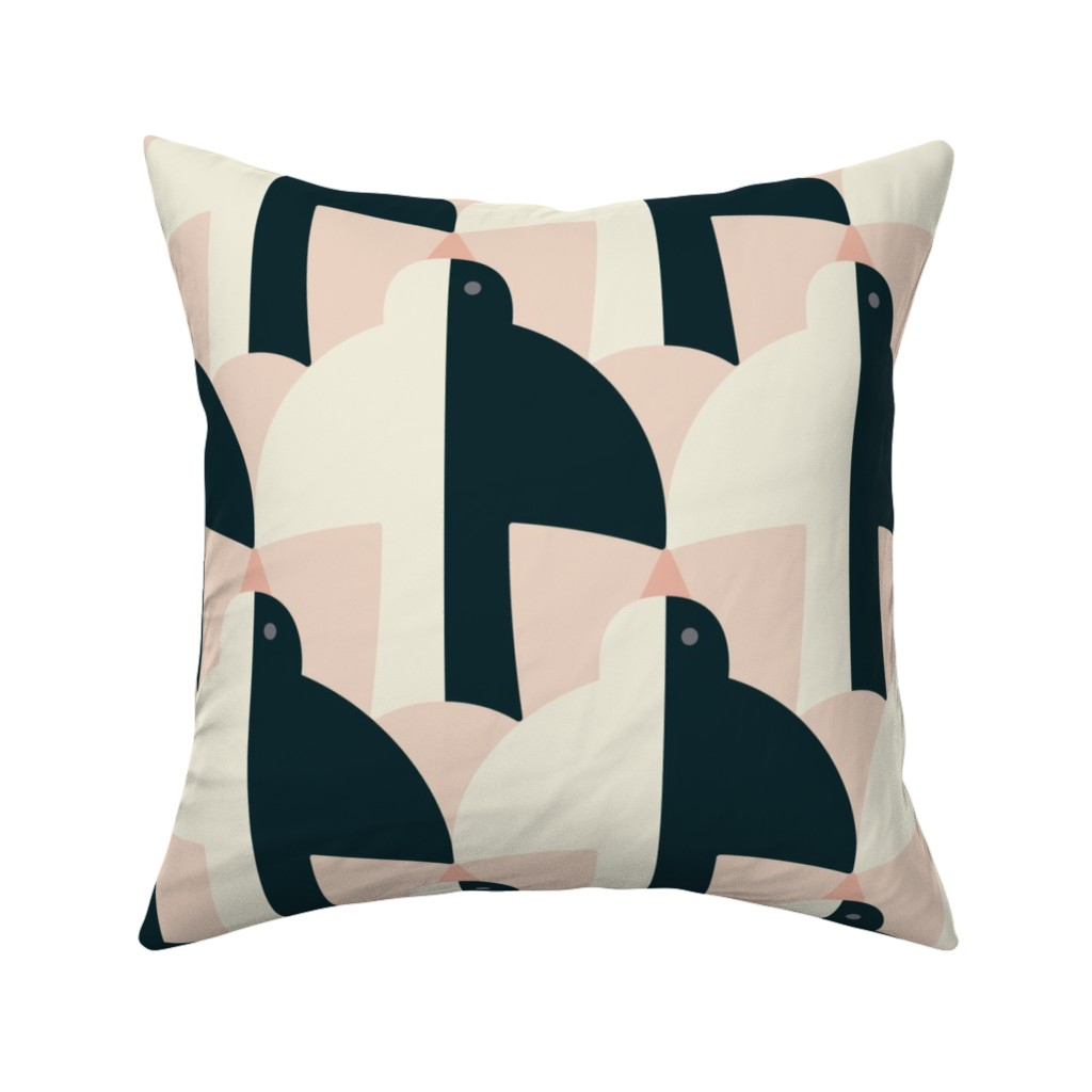Catalan Throw Pillow featuring Swallow by lemonni