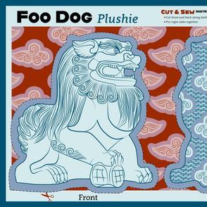 Foo Dog Plushie 18x28