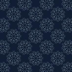 Geometric Flower Motif Japanese Style