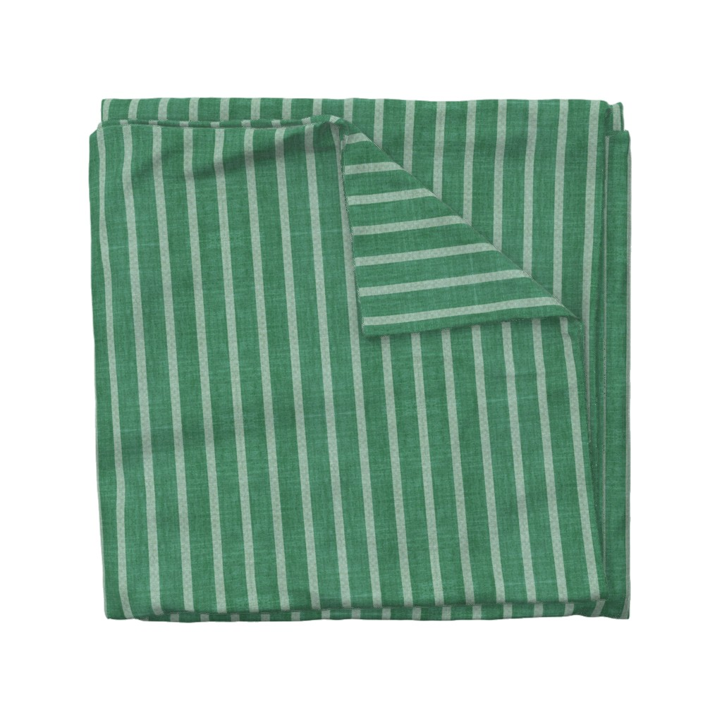 Wyandotte Duvet Cover featuring NORTH EVERGREEN STRIPE by holli_zollinger
