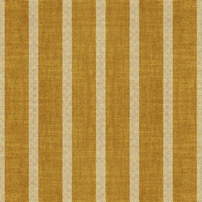 NORTH OCHRE STRIPE