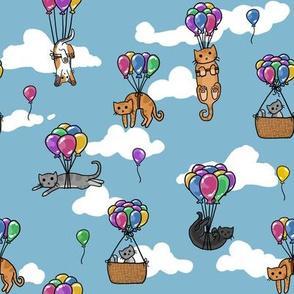 Balloon Cats