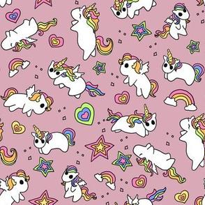 Rainbow Ponies Pink