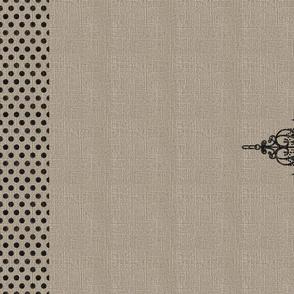 Chandelier Linen Tea Towel